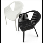 "plastic chair white chair arm chair ""pp-123a"""