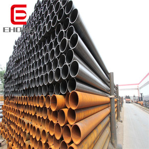 1.9 2 2.1mm ! round pipe erw in stock / anti-corrosion plastic coated steel pipe for oil