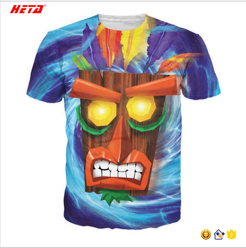 High quality with your own designCustom sublimation t-shirt wholesale China digital dye sublimation shirts tshirt custom t shir