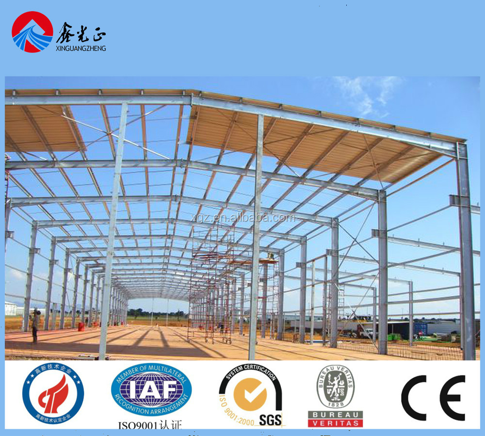 Low-price Professional Light Weight Steel Structure Workshop Building House Design Supplier