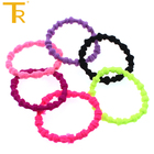 Fashion convenient rubber elastic girl accessories hair band for women