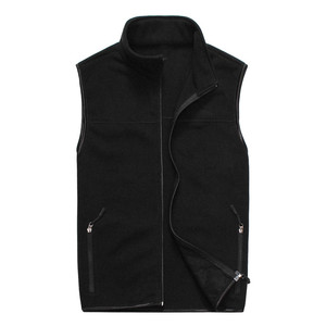 Men's sleeveless polar fleece vest