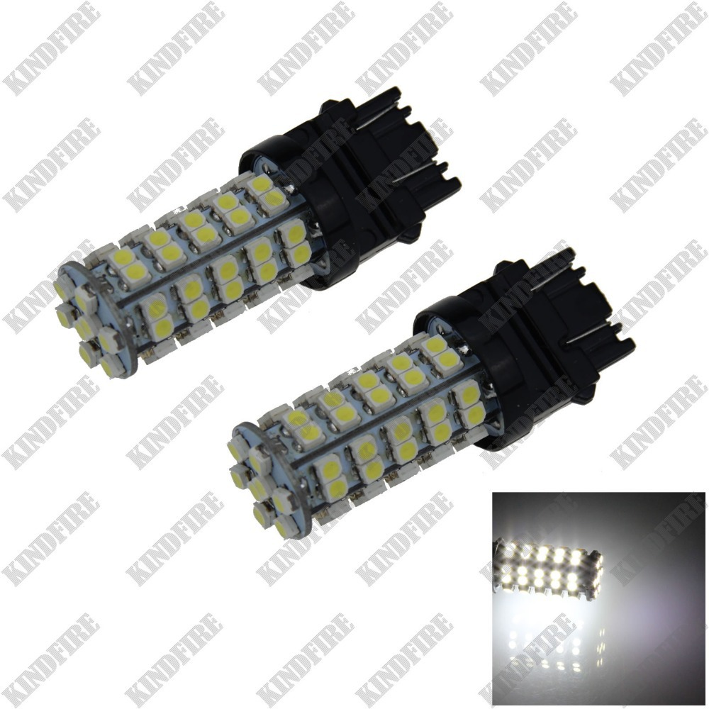 KindFire 2X 3156 3157 68 1210 SMD LED Turn Signal Rear Light Brake Bulb F005(2 Color)