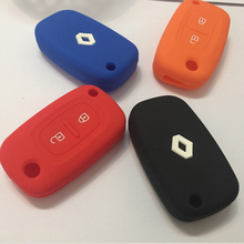 Replacement  covers Renault 2 Buttons Duster Logan Fluence Clio Keys Car Covers Replacement Keys case