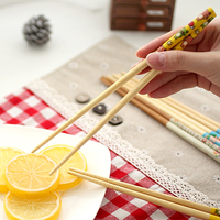 Family Use High Quality Food Grade Colored Bamboo Chopsticks reusable chopsticks