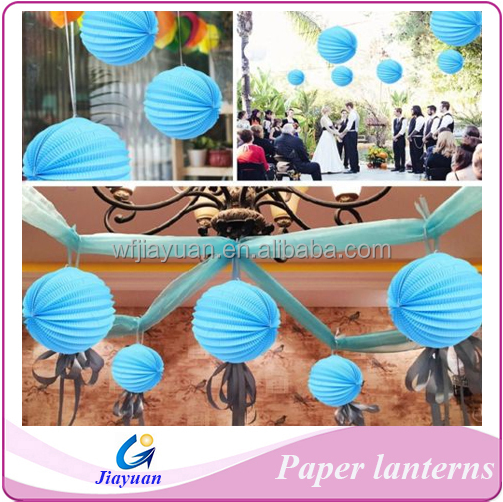 Wholesale Wedding Hanging Colorful Watermelon Paper Lantern