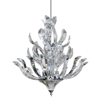 Rebecca lighting modern luxury crystal hotel led lamp chandelier pendant light