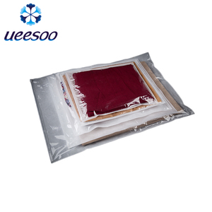 New Style Zipper Resealable PLA Biodegradable Clear Plastic Zipper Bag