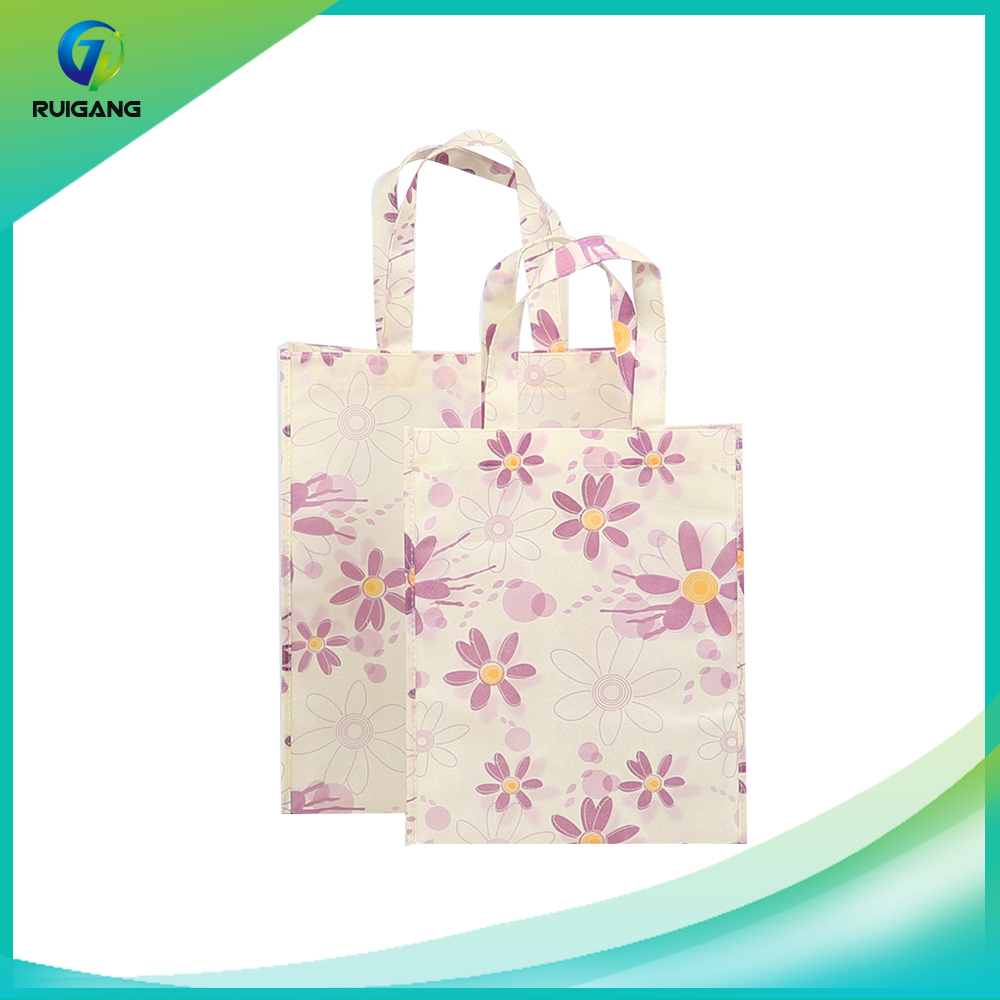 Wholesale Customized Reusable and Foldable Non Woven Tote Shopping Bags