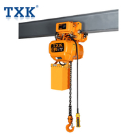 Lifting Heavy Cargo lifting machine 1.5ton made in China Electric Hoist with Trolley