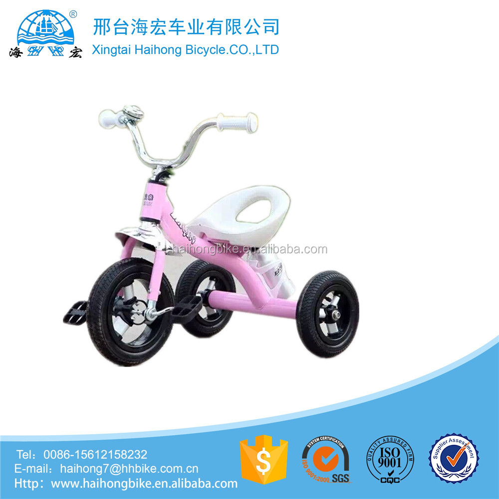 factory direct supply kids tricycle/three wheels kids velo with cargo