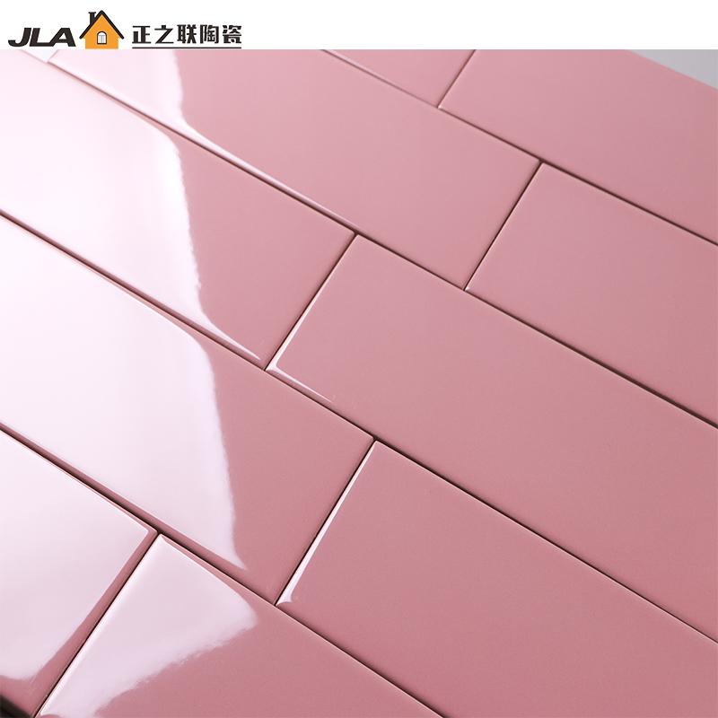 4x12 Pink Bathroom Design Decorative