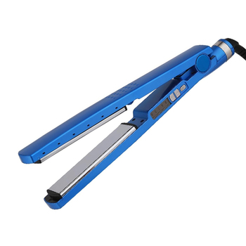 Dual Voltage Digital Flat Iron Pro Nano Titanium Plated Hair Straightener with LCD Display