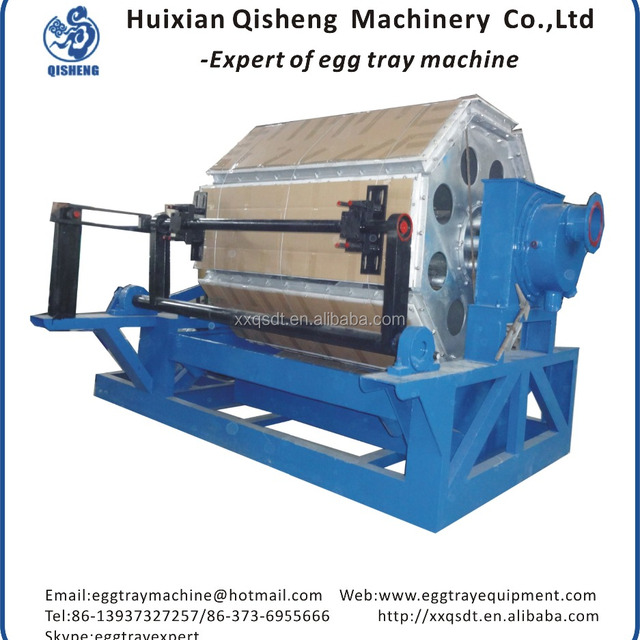 2016 hot-selling QS4*8 egg tray making machine used paper egg tray making machine