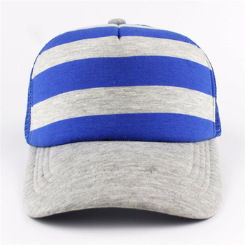 Wholesale truck cap mesh hat for advertising 6 panel baseball caps colorful  striped dad hat with 2f3175c3e5d4