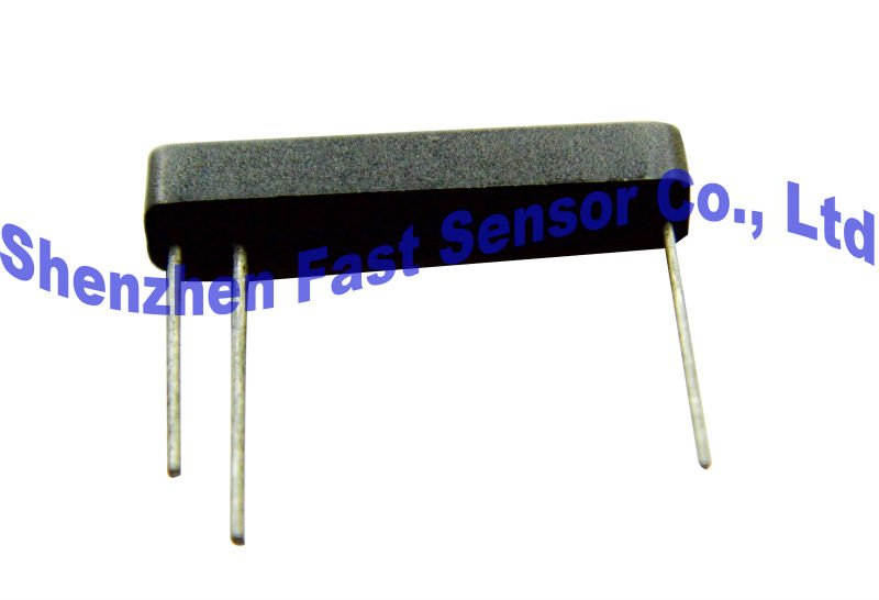 magentic rectangular plastic mounted 3 pins change over SPST reed switch sensor