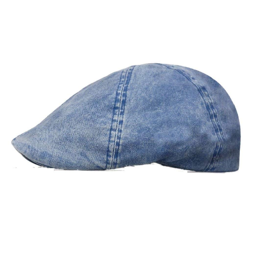 4f0b92c4565 Get Quotations · New fashion Washed Newsboy Cotton Gatsby Cap Mens Ivy Hat  Golf Driving Sun Flat Cabbie
