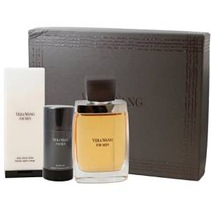 Vera Wang Cologne 3 Piece Gift Set by Vera Wang Fragrances for Men.