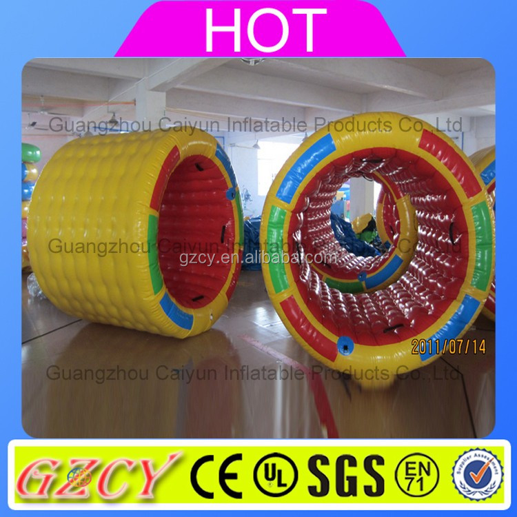 Best selling inflatable water roller, inflatable water walking roller, inflatable water rolling tube