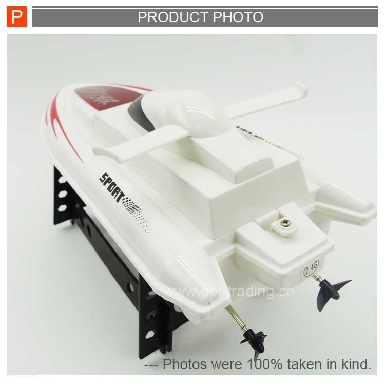 Hot sale 2.4g nqd rc boat kids remote control ship with battery
