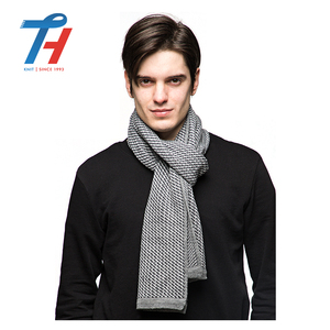 Winter Fashion Good Quality Knitted Plaid Tartan Scarf