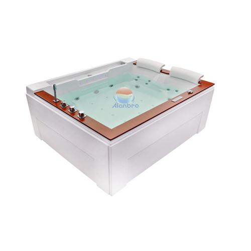 Luxe acrylique baignoire de massage chaude spa de nage pour la partie spa de natation en plein air baignoire BC-650