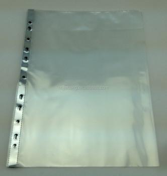 A4 Meninju Dudukan Dokumen Plastik Bening Dengan Tepi