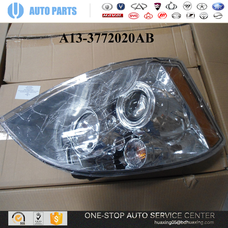 A13 3772020ab Head Lamp Chery Fora A1 A3 A5 Qq Bonus Auto Parts Chery Spare Parts Car Chinese View Chery Auto Parts Chery Product Details From Baoding Junli Auto Spare Parts Co Ltd On Alibaba Com
