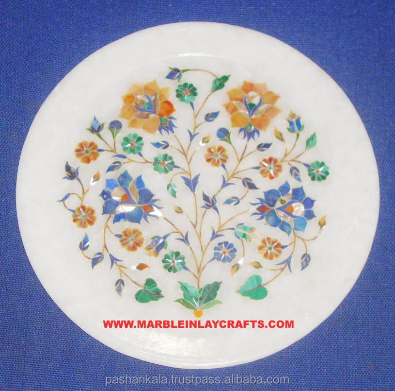 White Stone Plate High Quality Plate
