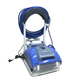 Powerful automatic swimming pool accessory cleaning equipment swimming pool climbing wall robotic cleaner