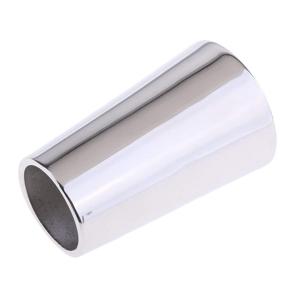 Get Quotations · Baoblaze Brand New Boat Silver Stainless Steel Handrail Round Pipe Base Hardware