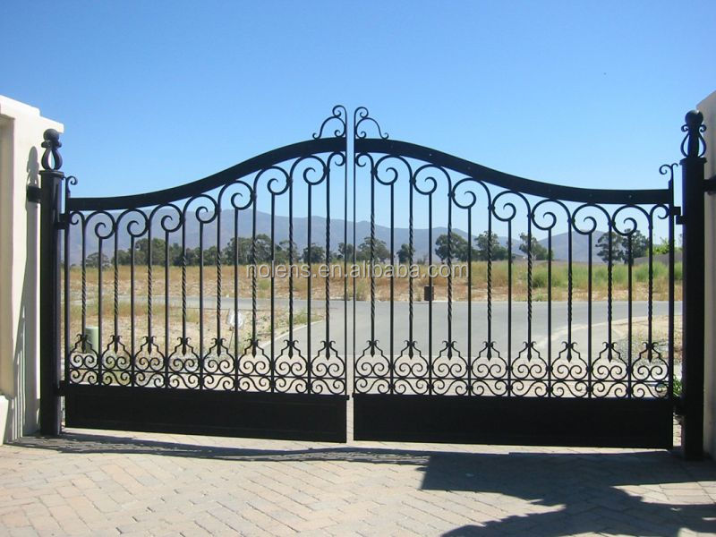 Great Wrought Iron Gate Designs For Homes Made In China, Hot Sales Door Iron Gate Part 13