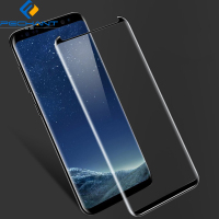 2019 Wholesale 9H 0.33mm 3D Curved Full Cover galaxy s8 mobile tempered glass screen protector for Samsung Galaxy S8/S8 plus