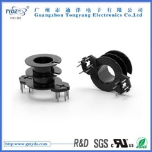 RM12 Ver.double groove 6+6 coil ferrite bobbin assembly maker in taiwan