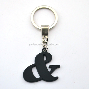 Wholesale High Quality Leather Keychain, Custom Shape Promotional Giveaway Gift leather keychain