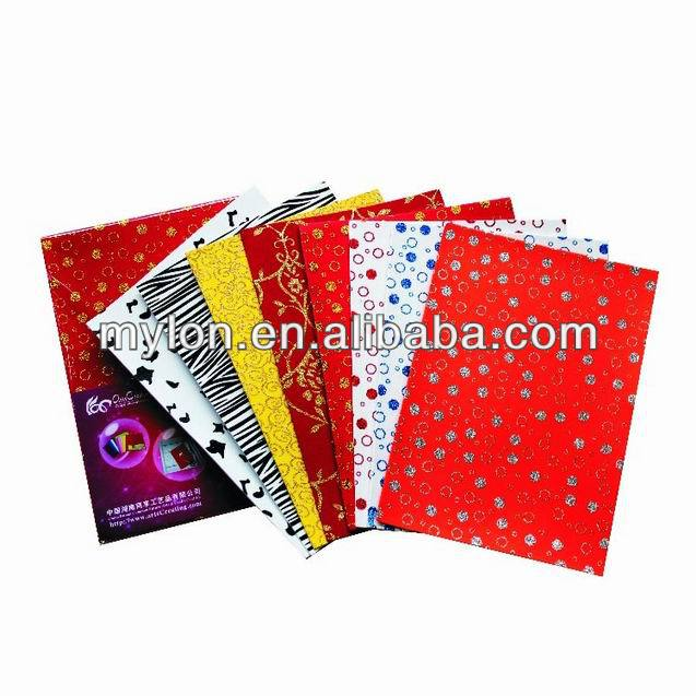 eco-friendly Art EVA foam sheet for children art with sticker