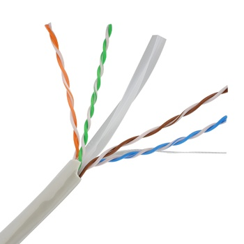High Quality Cat5e/cat6/cat6a.cat7 Cable 4pair 305m/roll