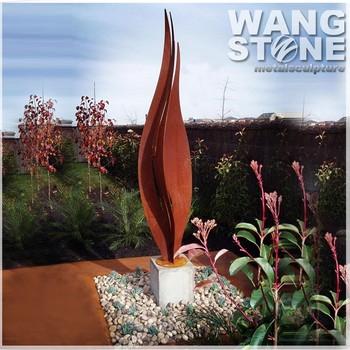 Wholesale Metal Yard Art Decorative Flower Garden Sculpture - Buy ...