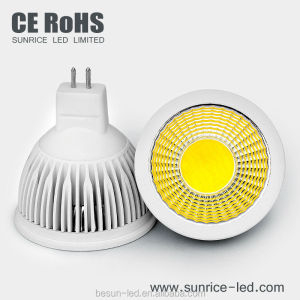 3-7w 12v cob led spot lamp mr16 high cri led spotlight for commecial light