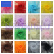 Wholesale 100% polyester Tulle Rolls Hexagonal Mesh Stretch Net Fabric