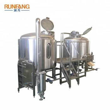 SUS304/SUS316 Sanitary Craft Beer Brewing Equipment Custom Brewhouse System