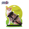 custom 2018 hot sale nylon cat pet dog harness collar lead collar back card package