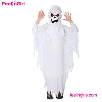 halloween white ghost wholesale children korean costume kids