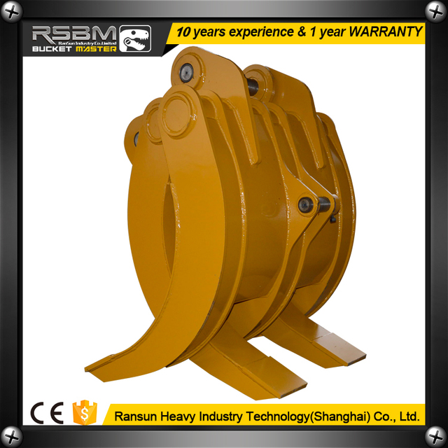 Customized machinery parts of excavator grapple