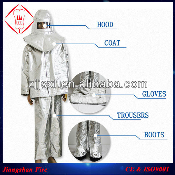 Fire Fighting Equipment Heat Resistant Suit