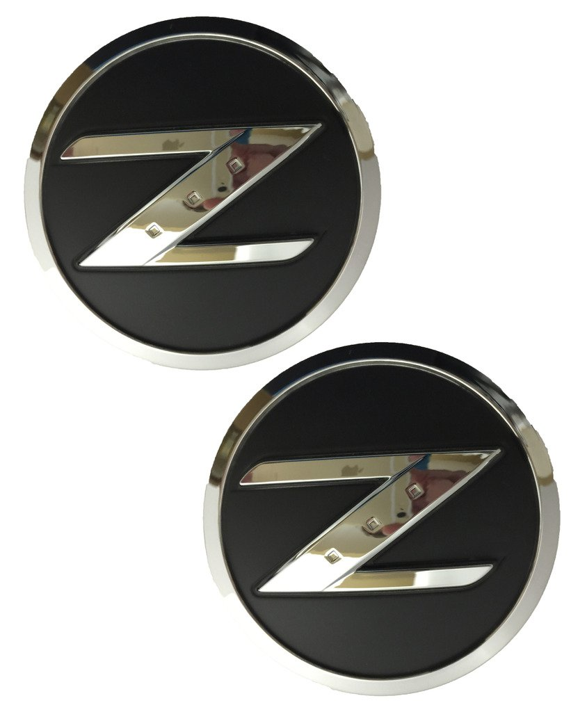 Salusy Auto Car Chrome 3D Silver ABS 350Z Emblem Badge for Nissan by Salusy