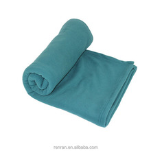 100% polyester cheap knitted polar fleece blankets in bulk