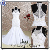 RQ052 Embroidery Beautiful Latest Special Design Wedding Dress Bridal Dress