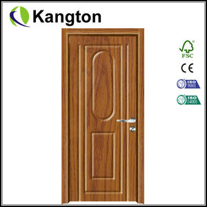 Sliding pvc bathroom plastic door