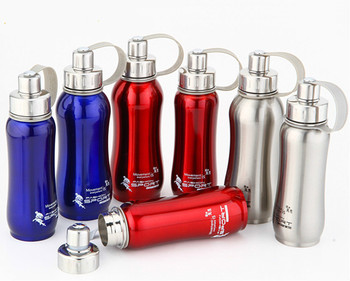 1000ml 800ml 600ml Stainless Steel Water Bottle Hermal Pot Portable for Bicycle Bottles Travel
